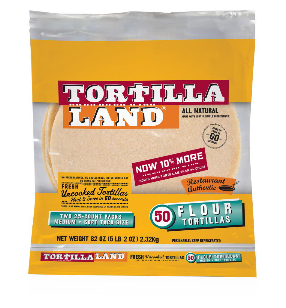 Great Recipes From Tyson Uncooked Flour Tortillas